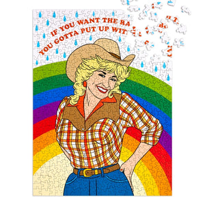 Cowgirl Rainbow - 500 Piece Puzzle