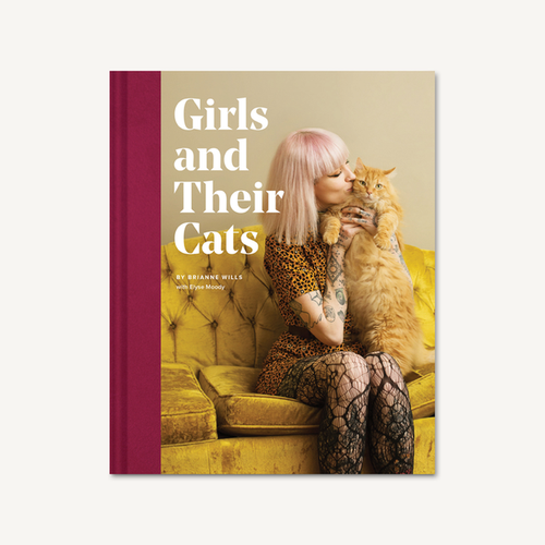 Girls and Their Cats by Brianne Wills