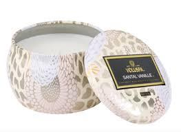Santal Vanille Small Tin Candle