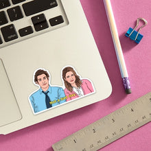 Load image into Gallery viewer, Jim & Pam - The Office - Die Cut Sticker