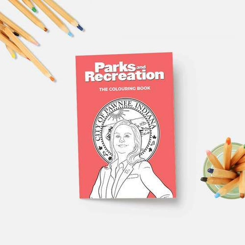 Parks and Recreation Coloring Book