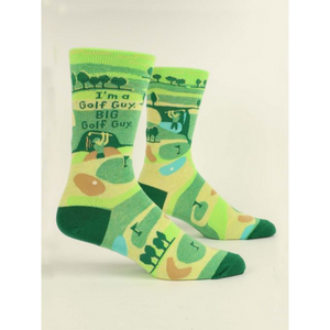 I'm a Golf Guy Men's Crew Socks