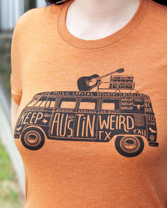 Keep Austin Weird TEE by Outhouse Designs