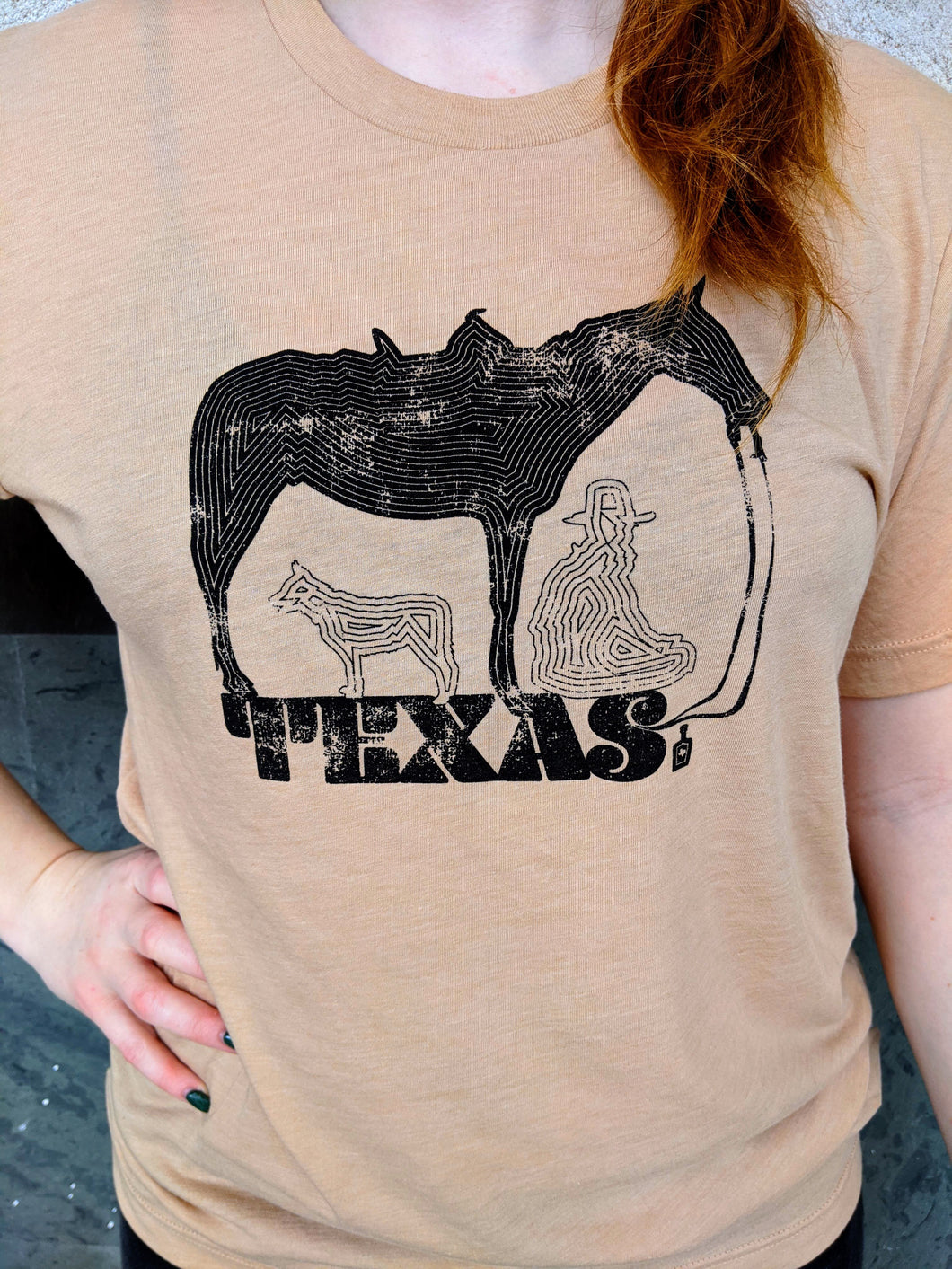 Zen Texas Ranch Cowboy T-Shirt