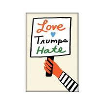 Load image into Gallery viewer, Love Trumps Hate Magnet