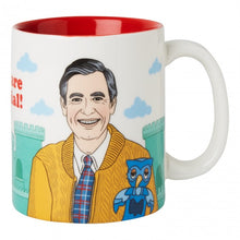 Load image into Gallery viewer, Mr. Rogers Ceramic Mug