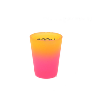 Keep Austin Weird Shot Glass - Neon