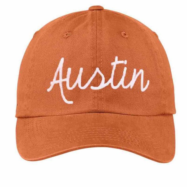 Frankie Jean Austin Baseball Cap - Burnt Orange