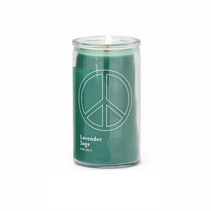 "Paddywax Spark Candle - ""PEACE"" Prayer Candle - Lavender Sage"