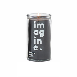 "Spark Candle - ""IMAGINE"" Prayer Candle - Pomelo Rose"