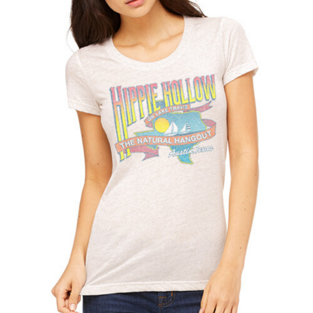 Hippie Hollow Women's Tee