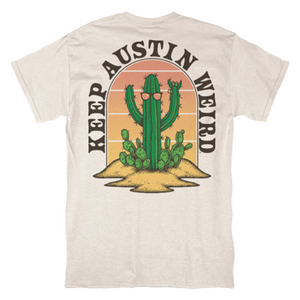 Keep Austin Weird Cactus T-shirt