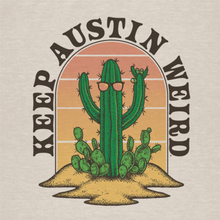 Load image into Gallery viewer, Keep Austin Weird Cactus T Shirt