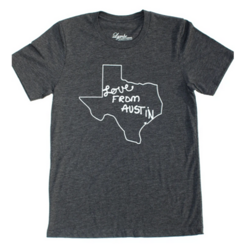 Love From Austin Tee