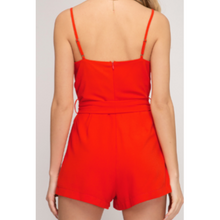 Load image into Gallery viewer, Cowl Neck Cami Romper