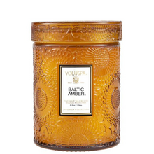 Load image into Gallery viewer, Baltic Amber Small Glass Jar Candle