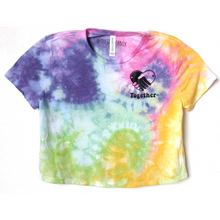 Load image into Gallery viewer, Crop Top Tie Dye Tee