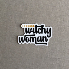 Load image into Gallery viewer, Witchy Woman Moon Phases Vinyl Sticker