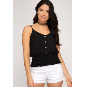 Button Down Cami Top