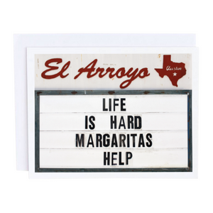 Lif is Hard, Margaritas Help Card