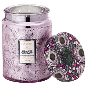 Japanese Plum Bloon Jar Candle