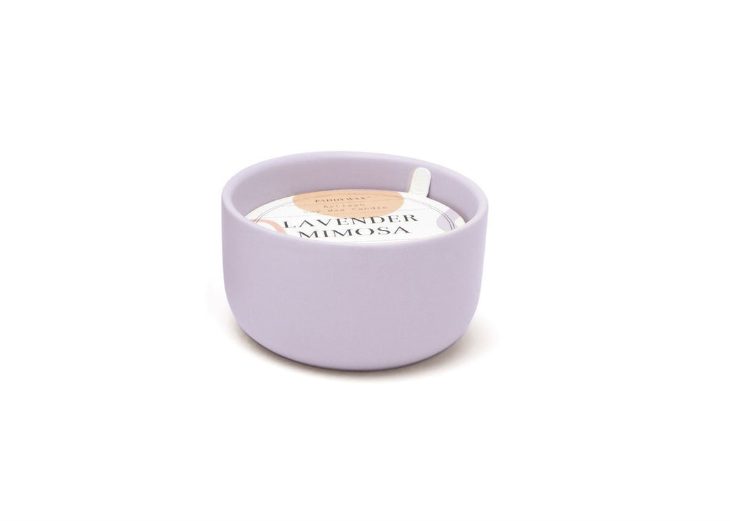 Paddywax Lavender & Mimosa Candle