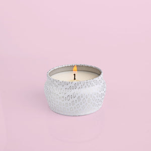 Volcano White Mini Tin Candle