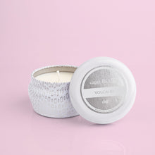 Load image into Gallery viewer, Volcano White Mini Tin Candle