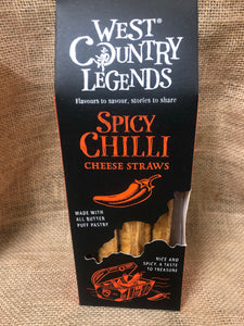 West Country Legends Spicy Chilli Cheese Straws