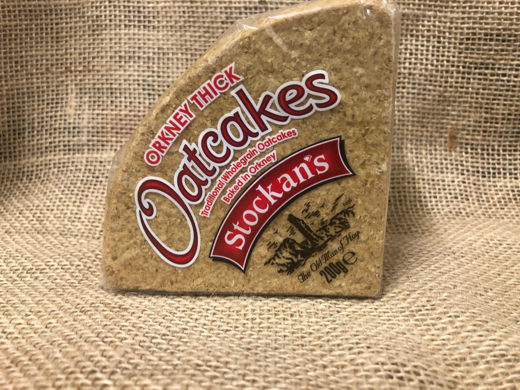 Stockans Thick Triangular Oatcakes 200g