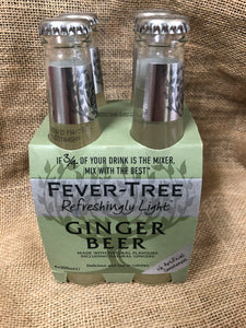 Fever Tree Ginger Beer 4x200ml