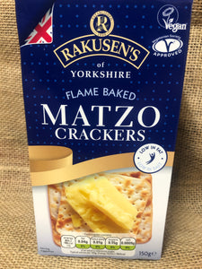 Flame Baked Matzo Crackers 150g