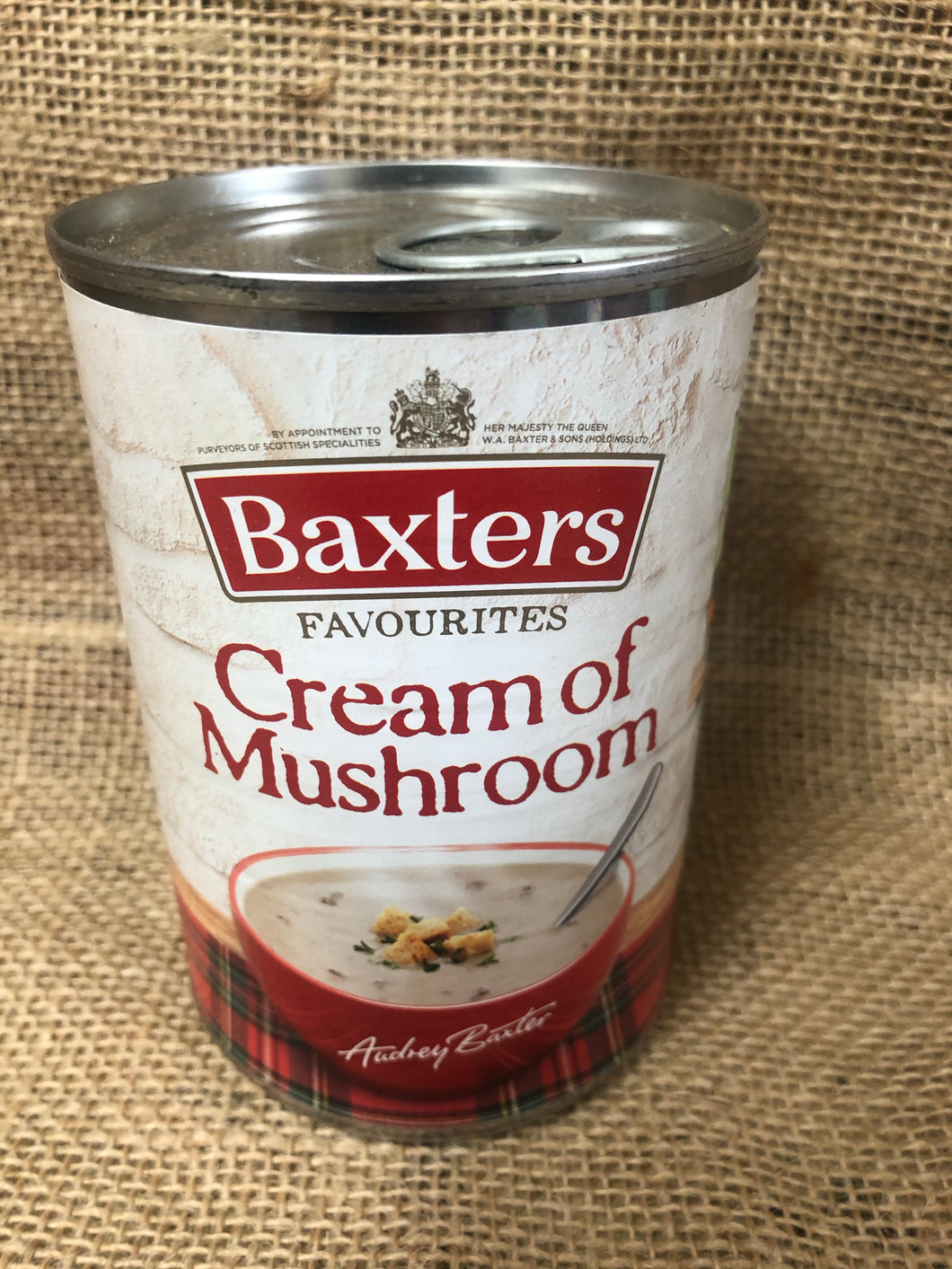 Baxter's Favourite Cream of Mushroom Soup 400g