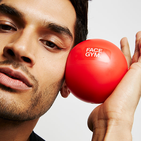 FaceGym Red Face Ball