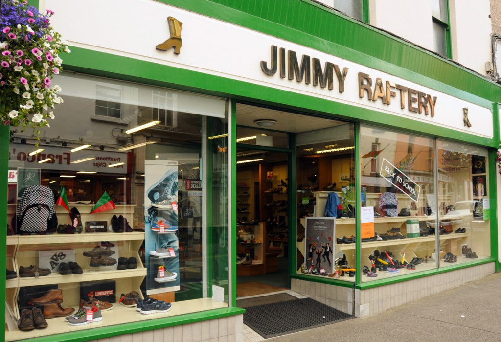 Jimmy Raftery Shoes Shop in Ballina Mayo