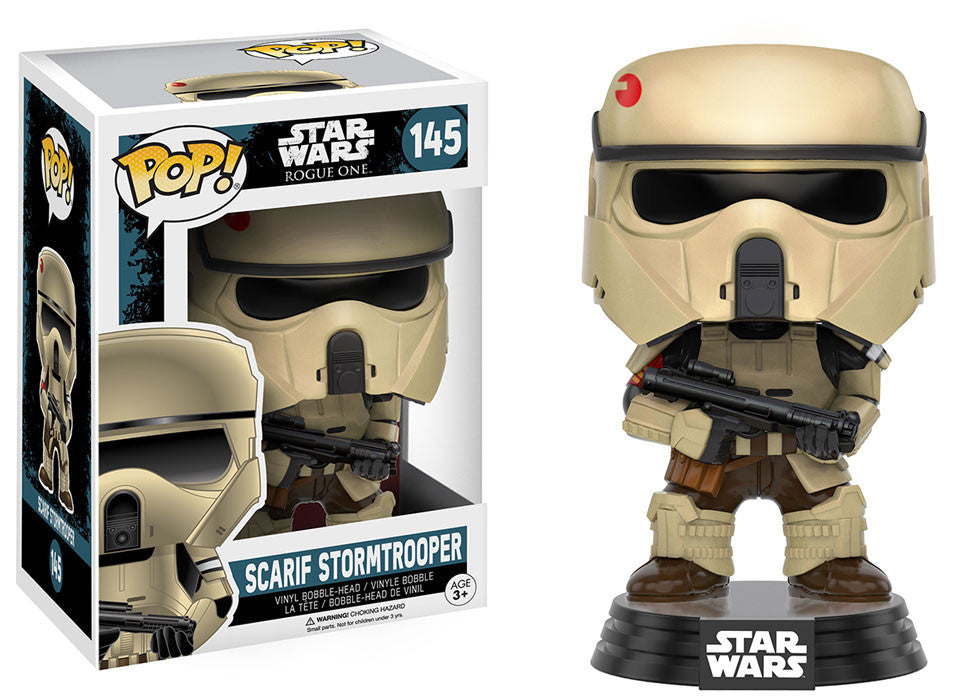 Toy Wars First Look! - Scarif Stormtrooper POP!