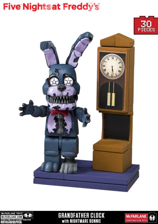 Preorder January 2018 Five Nights at Freddy's Grandfather Clock Micro Construction Set