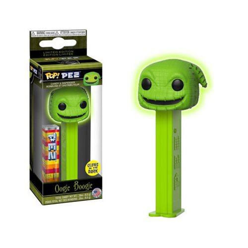 Preorder Nightmare Before Christmas Oogie Boogie Glow-in-the-Dark Pop! Pez