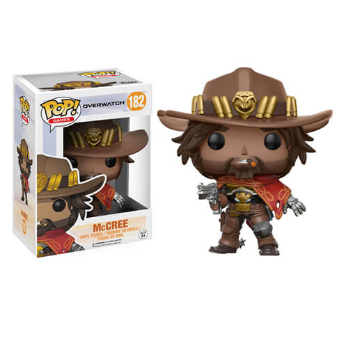 Blizzard Overwatch McCree Pop! Vinyl Figure #182