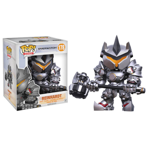 Preorder May 2017 Overwatch Reinhardt Pop! Vinyl Figure
