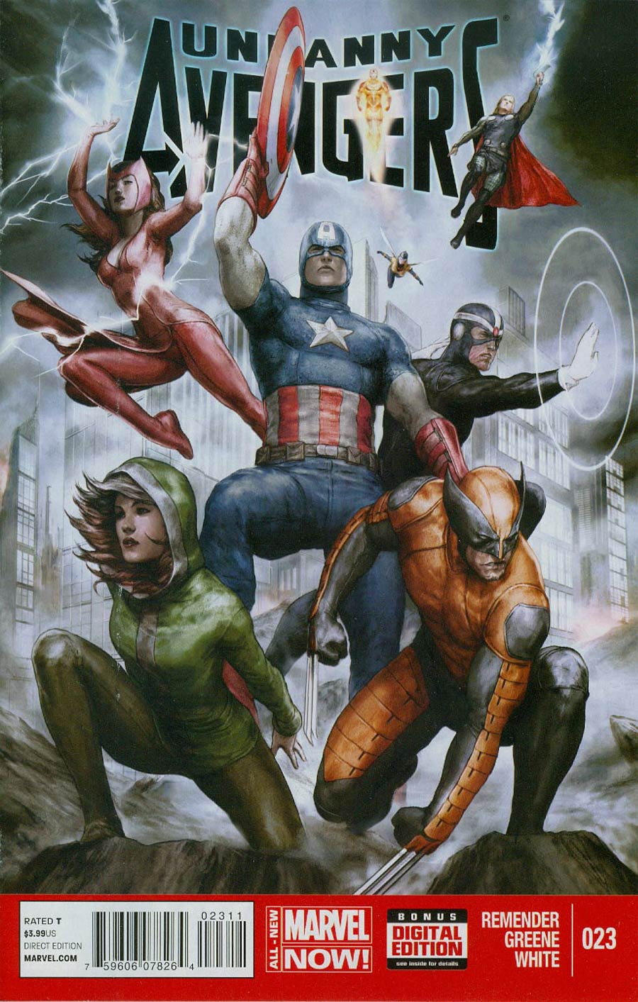 Uncanny Avengers #23 Comic Book