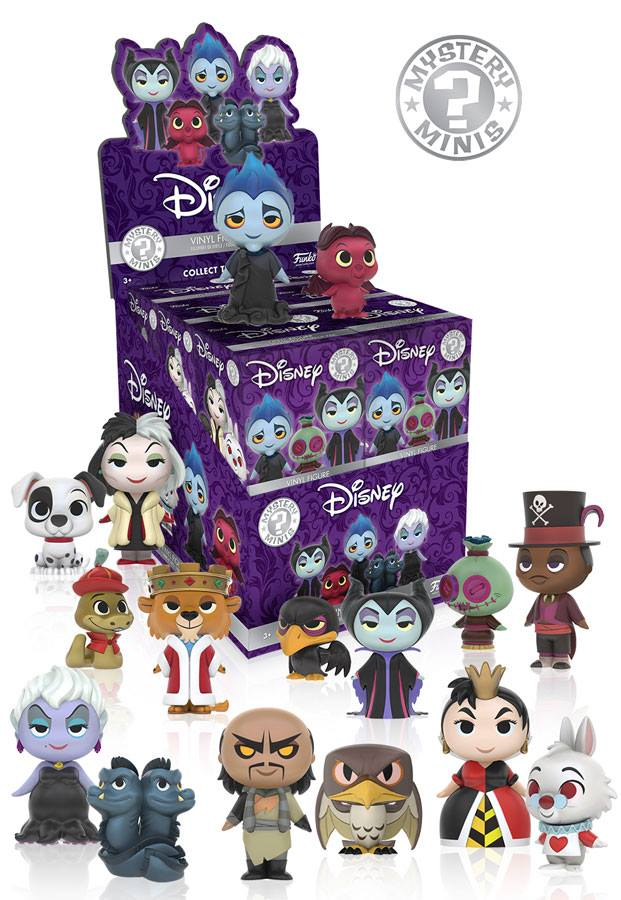 Disney Villains Mystery Minis (One Random Figure)