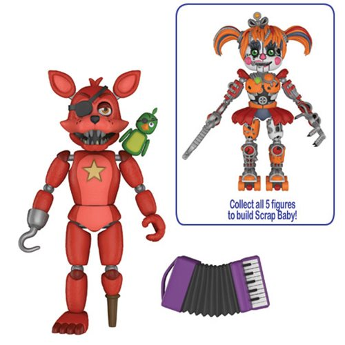 Preorder September 2018 Five Nights at Freddy's: Pizza Simulator Rockstar Foxy 5-Inch Action Figure