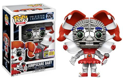 SDCC 2017 Five Nights Freddy's Sister Location Jumpscare Baby POP! Vinyl Figure