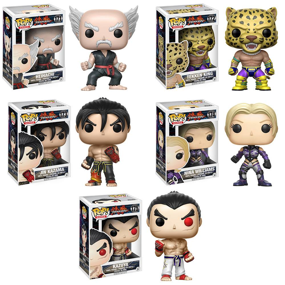 Tekken Pop! Vinyl Figure Set of 5