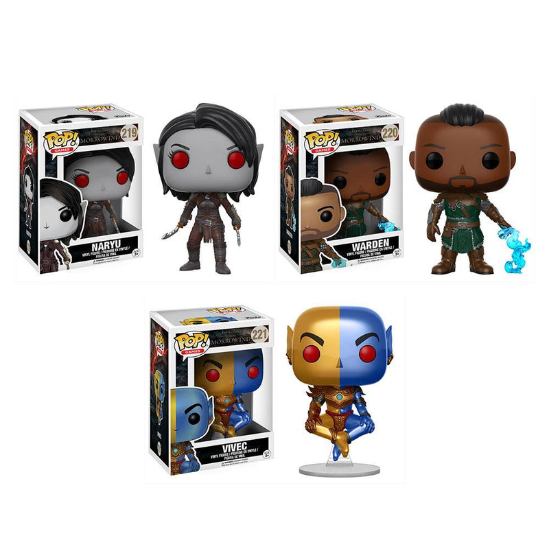 Preorder July 2017 Elder Scrolls Pop! Vinyl Figures Set of 3