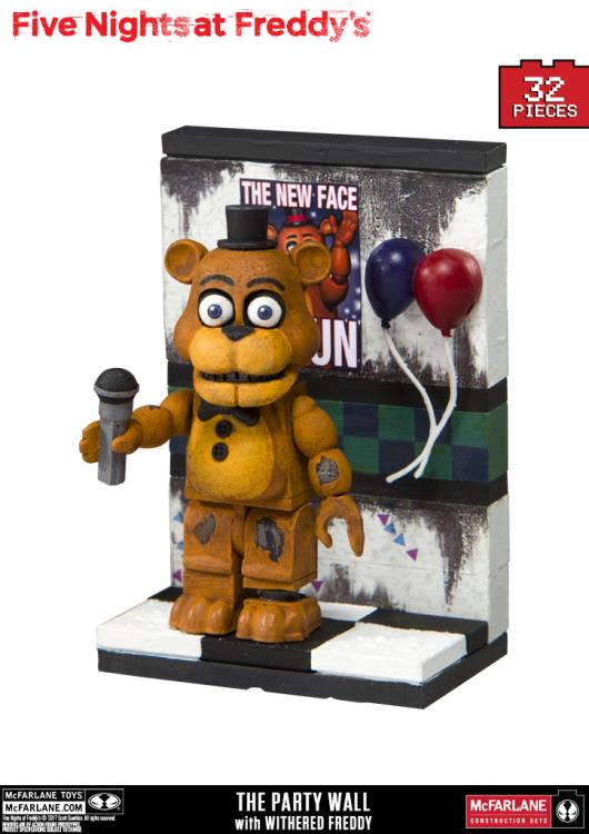 Five Nights at Freddy's Party Wall Micro Construction Set