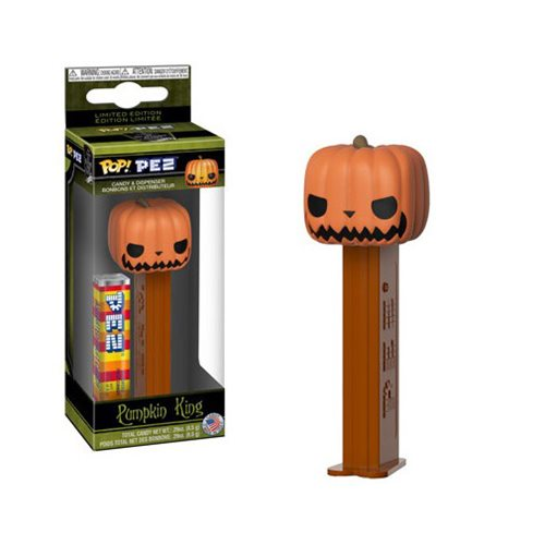 Preorder Nightmare Before Christmas Pumpkin King Pop! Pez