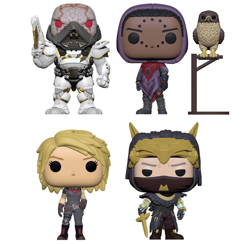 Destiny Pop! Vinyl Figures Set of 4