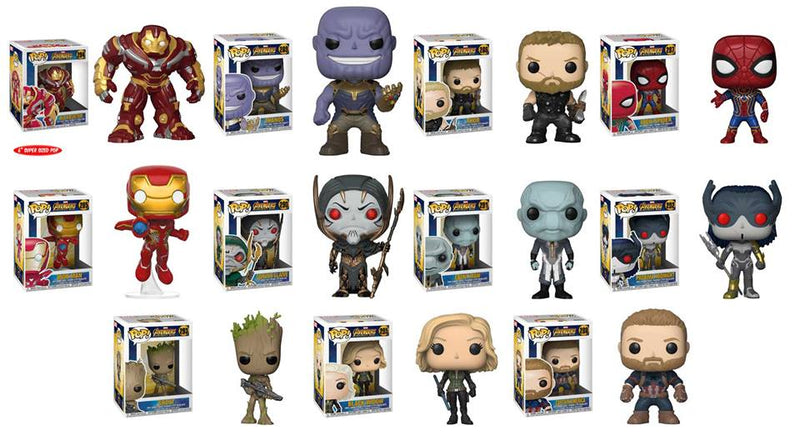 Preorder  Avengers: Infinity War Pop! Vinyl Figures Set of 11
